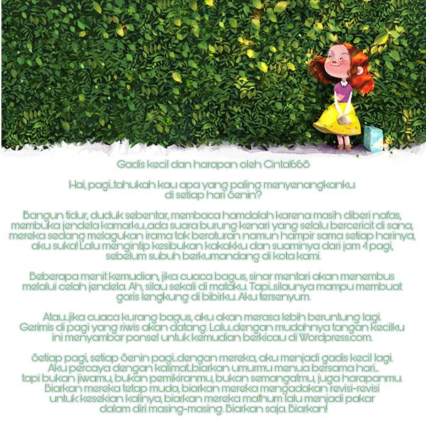 Puisi Gadis Kecil dan Harapan
